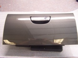 Dodge Challenger Glove Box Door Hydro Carbon Fiber Finishing Only