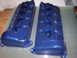 Fits 2010-13 Shelby GT500 Valve Covers 5.4L Hydro Carbon Fiber With Parts Included