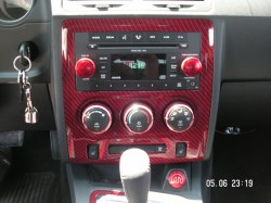 Dodge Challenger Radio Bezel With Part Included