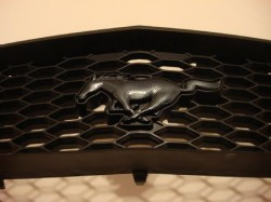2005-09 GT Horse Emblem Hydro Carbon Fiber With Part Included